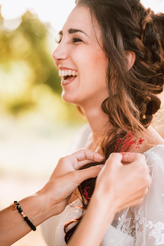 coiffure de la mariée, mariage