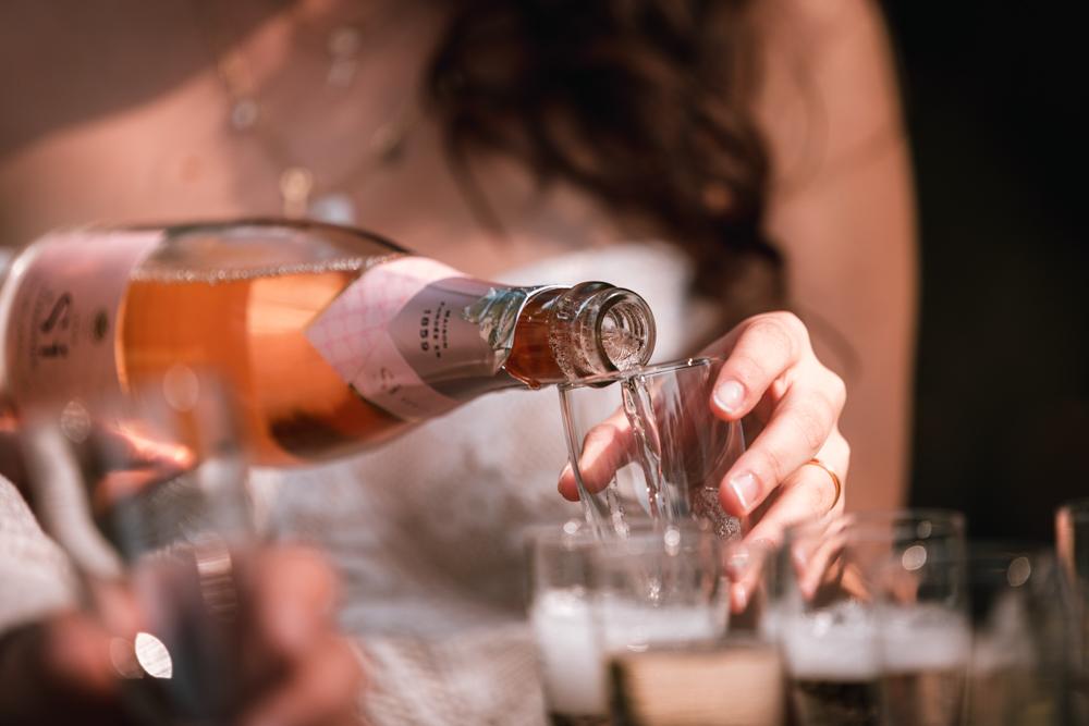 Photographe mariage, vin d'honneur