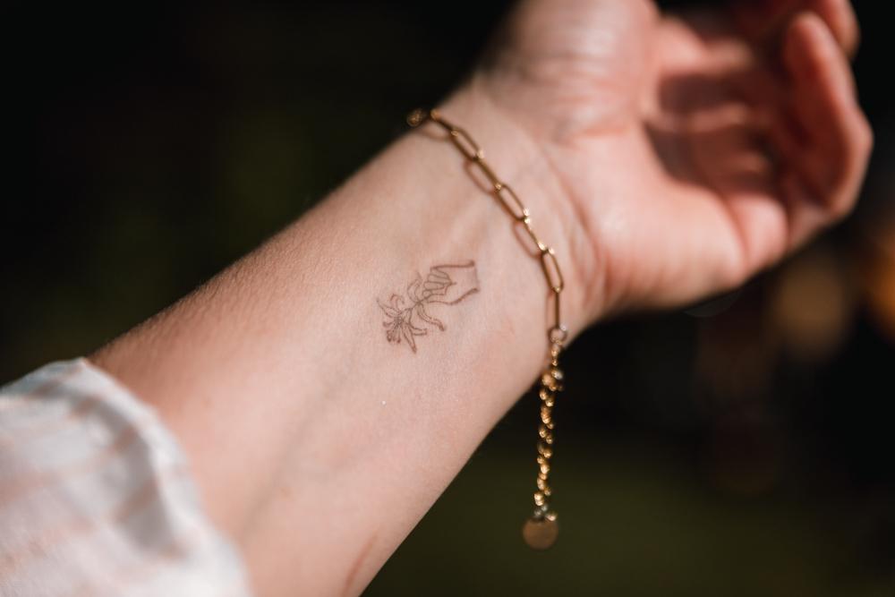 Photographe mariage, photo détail, tatouage, tatoo