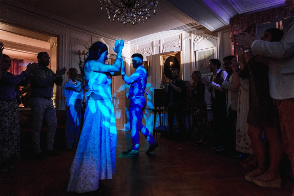 Photographe mariage mayenne, maine et loire. soirée château