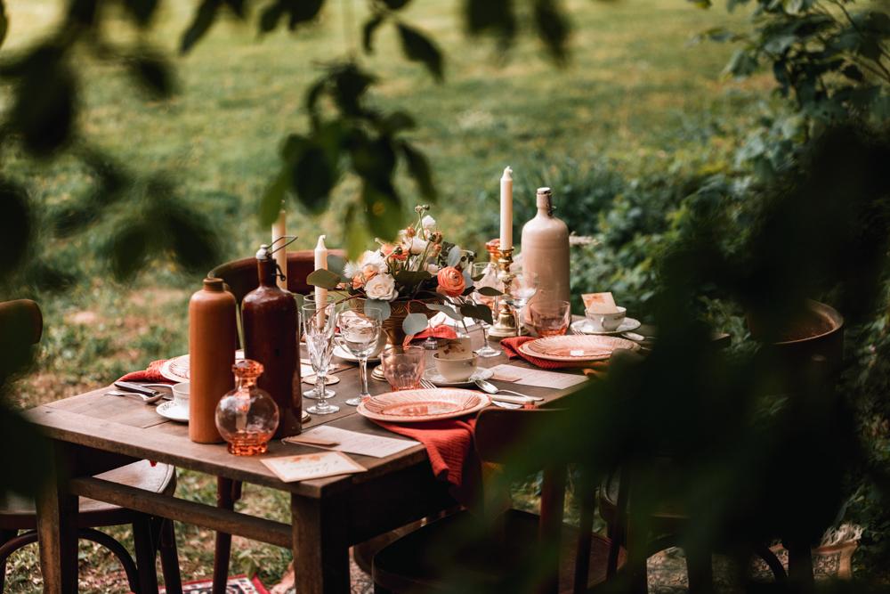 table de mariage. Photographe mayenne, maine et loire