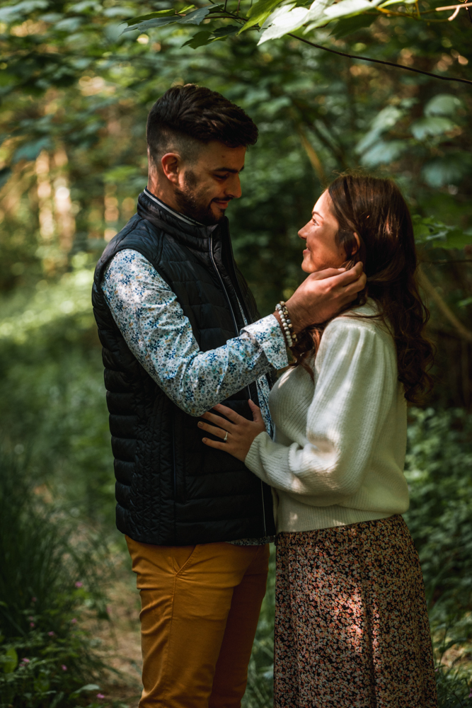séance engagement avant le mariage, photographe mariage en pays de loire