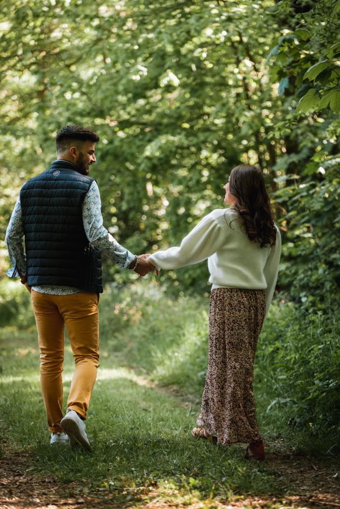 séance engagement avant le mariage