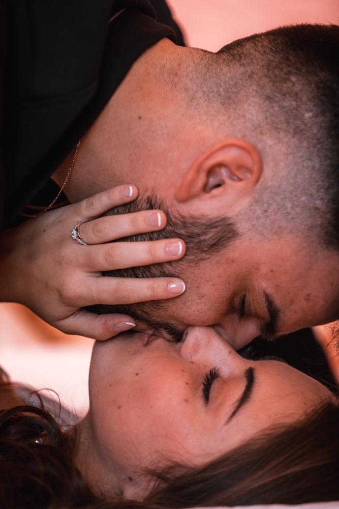 Photographe mariage, mayenne, maine et loire et sarthe, baisé