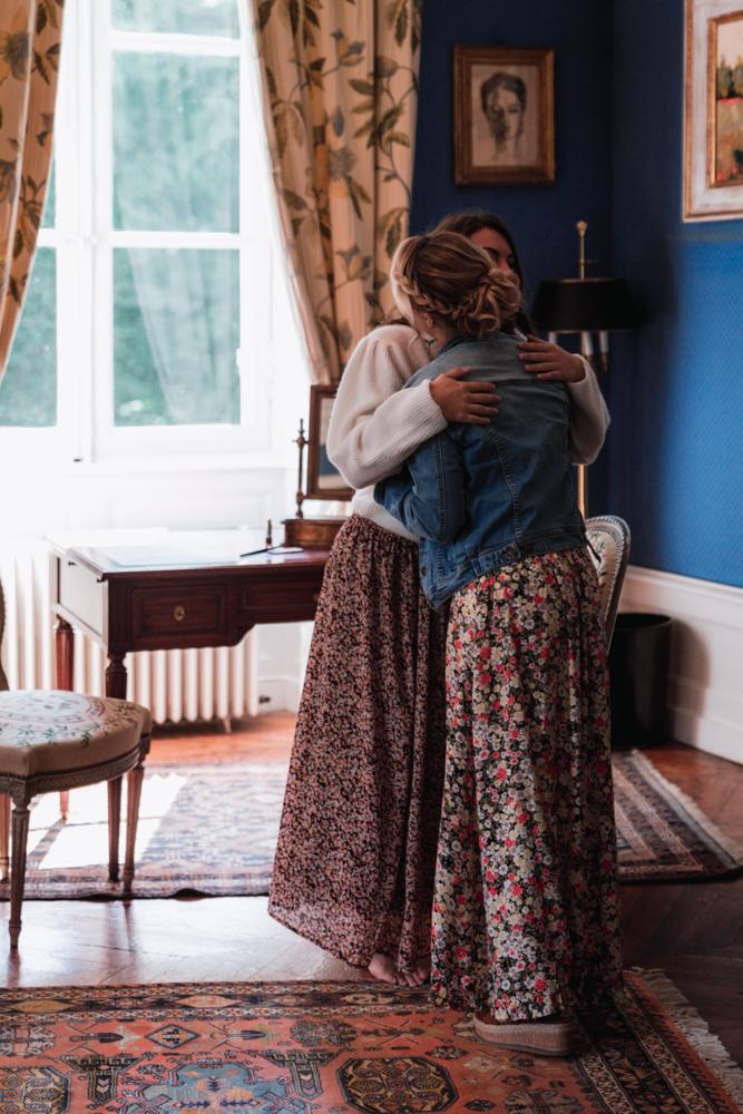 préparatif de la mariée, témoin, photographe mariage
