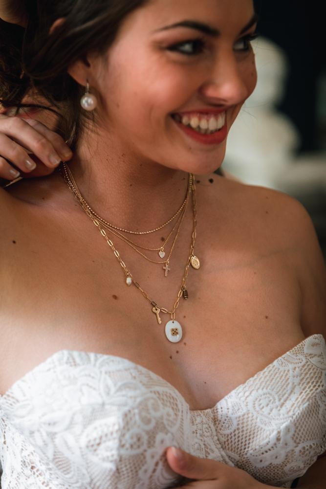 préparatif de la mariée, bijoux