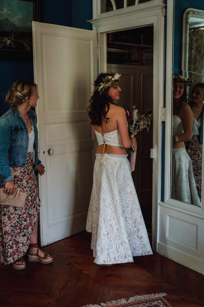 fin préparatif mariée, photographe mariage