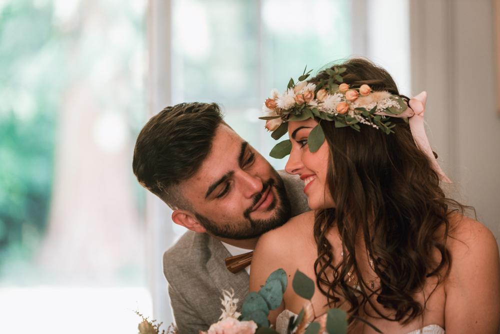 découverte des mariés en ténue, grand moment