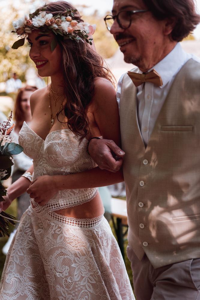 entrée des mariés mariage, cérémonie laïque