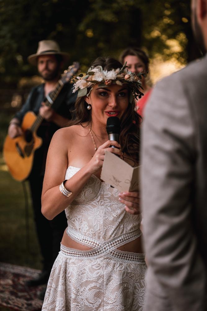 photographe mariage, cérémonie laïque, échange des voeux