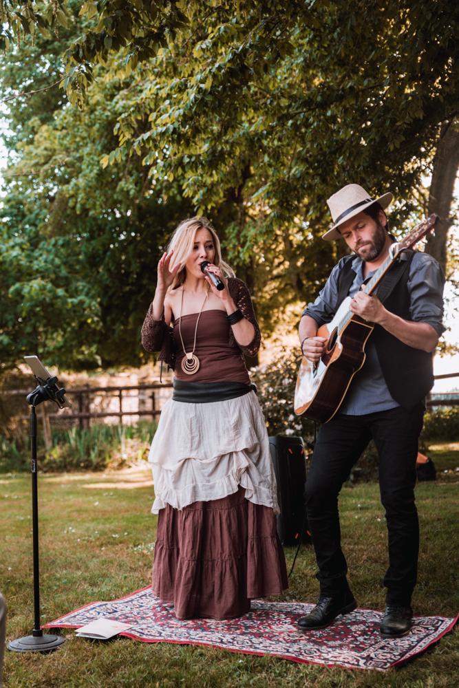 musiciens à un mariage